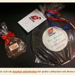 Leckere fränkische Lebkuchen mit Ihrem Logo (Quelle: Webseite)